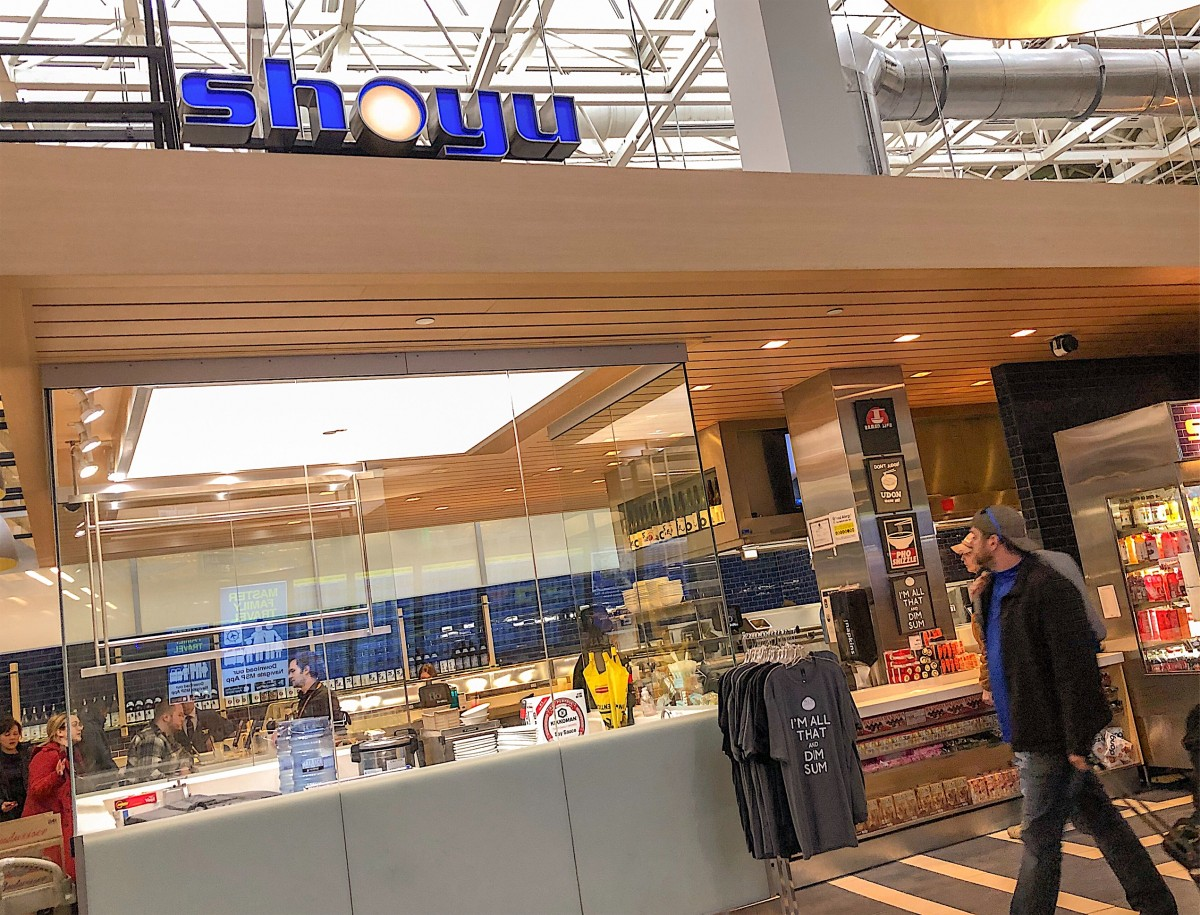 Dining At The Shoyu Restaurant At The Minneapolis Airport